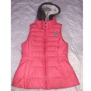 Hollister coral/pink vest